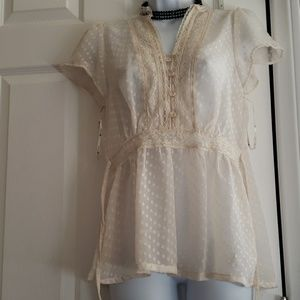 Forever 21- brand new chiffon blouse small/petite